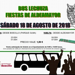BUS LECHUZA ALDEAMAYOR